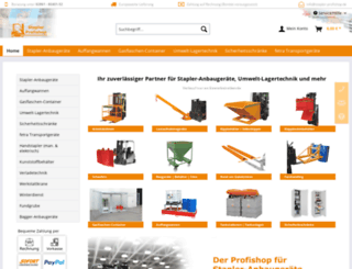 stapler-profishop.de screenshot