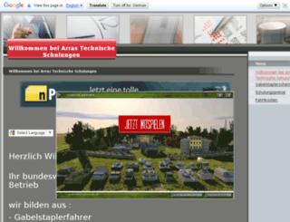 staplerschein.npage.de screenshot