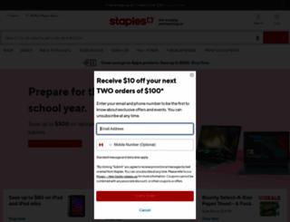 staples.ca screenshot