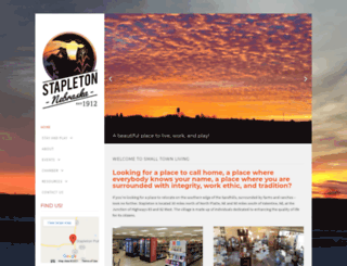 stapleton-ne.com screenshot