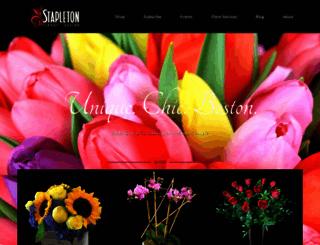 stapletonfloral.com screenshot