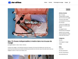 star-airlines.fr screenshot