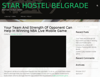 star-hostel.com screenshot