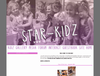 star-kidz.net screenshot