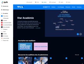 staracademie.ca screenshot
