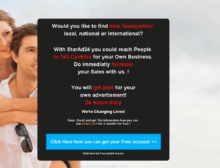 starad24-make-money-online-and.click-your-dream.com screenshot