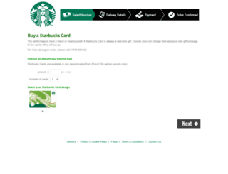 starbucks.svmeurope.co.uk screenshot