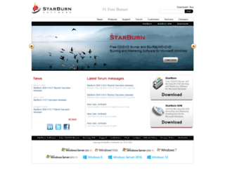 starburnsoftware.com screenshot