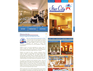 starcityhotel.com screenshot