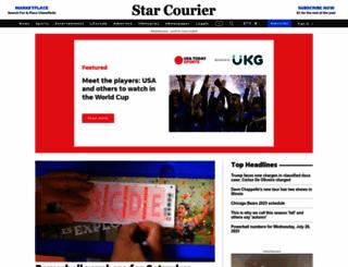 starcourier.com screenshot
