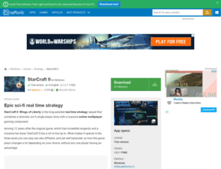 starcraft-2.en.softonic.com screenshot