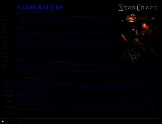 starcraftd6.tripod.com screenshot