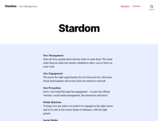 stardom.in screenshot
