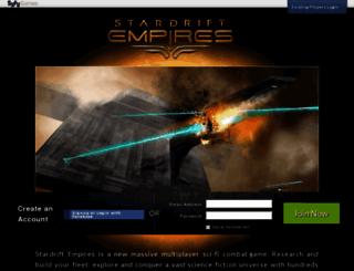 stardriftempires.com screenshot