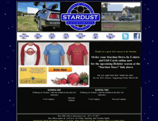 stardustdrivein.com screenshot