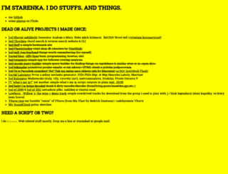 starenka.net screenshot