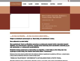 staretehly.webnode.sk screenshot