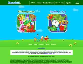 starfall.com screenshot