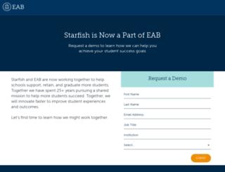starfish.hobsons.com screenshot