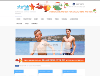starfishcossies.com.au screenshot