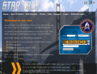 starfleet.com screenshot
