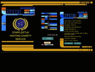 starfleetuk.org screenshot