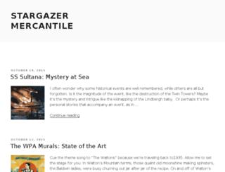 stargazermercantile.com screenshot