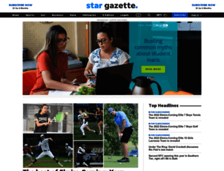 stargazette.com screenshot