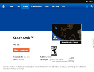 starhawkthegame.com screenshot