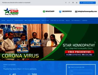 starhomeopathy.com screenshot