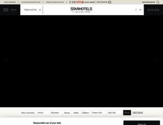 starhotels.com screenshot