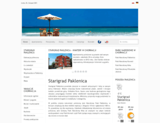 starigrad-paklenica.net screenshot