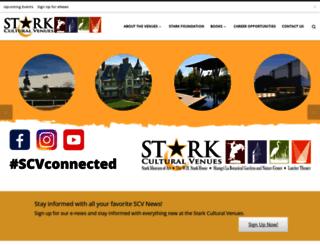 starkculturalvenues.org screenshot