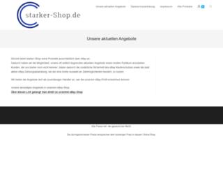 starker-shop.de screenshot
