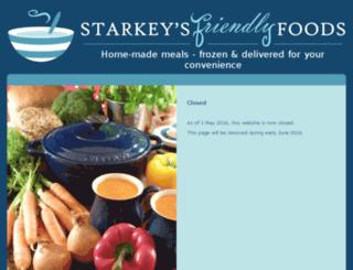 starkeysfriendlyfoods.com screenshot