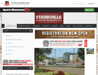 starkville.sportssignupapp.com screenshot