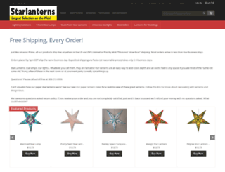 starlanterns.net screenshot