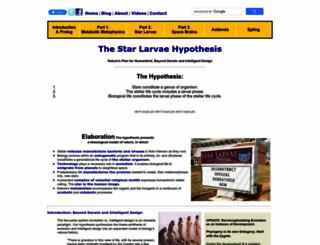 starlarvae.org screenshot