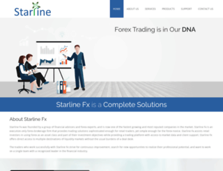 starlinefx.com screenshot