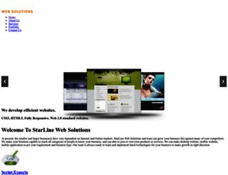 starlinewebsolutions.com screenshot