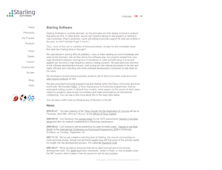 starling-software.com screenshot