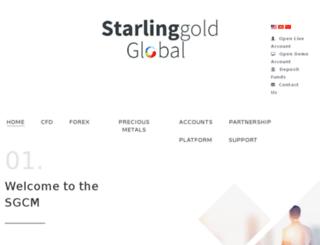 starlinggold.com screenshot