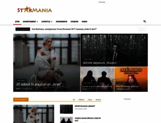 starmania.ro screenshot