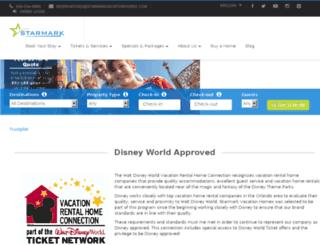 starmarkvacationhomes.com screenshot