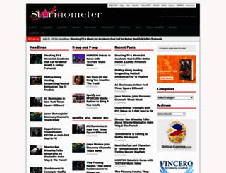 starmometer.com screenshot