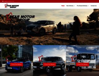 starmotor.co.za screenshot