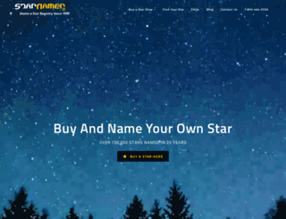 starnamer.com screenshot
