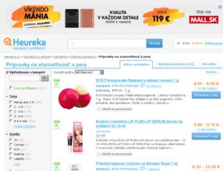 starostlivost-o-pery.heureka.sk screenshot