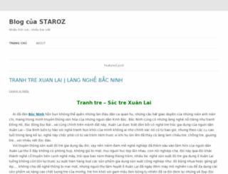 staroz.wordpress.com screenshot
