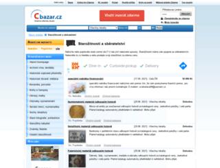 starozitnosti.cbazar.cz screenshot